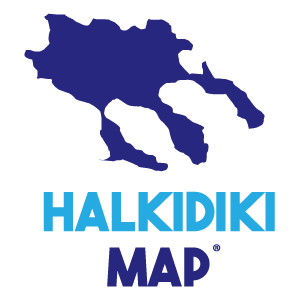 Halkidiki Map – by MasterFold S.A Λογότυπο